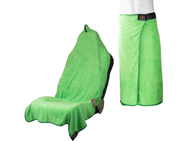 Orange Mud Transition Wrap 2.0 Multifunctional Towel lime green